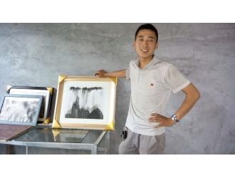 民间牛人——山东嘉祥民间草根画家:刘训兵—神奇的墨汁会跳舞