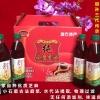 普通礼品盒(王其建小磨香油500mL*4-PET高瓶/中瓶)