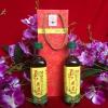 典雅红藤条礼盒(500mL*2-PET瓶)系列(王其建小磨香油--中档)